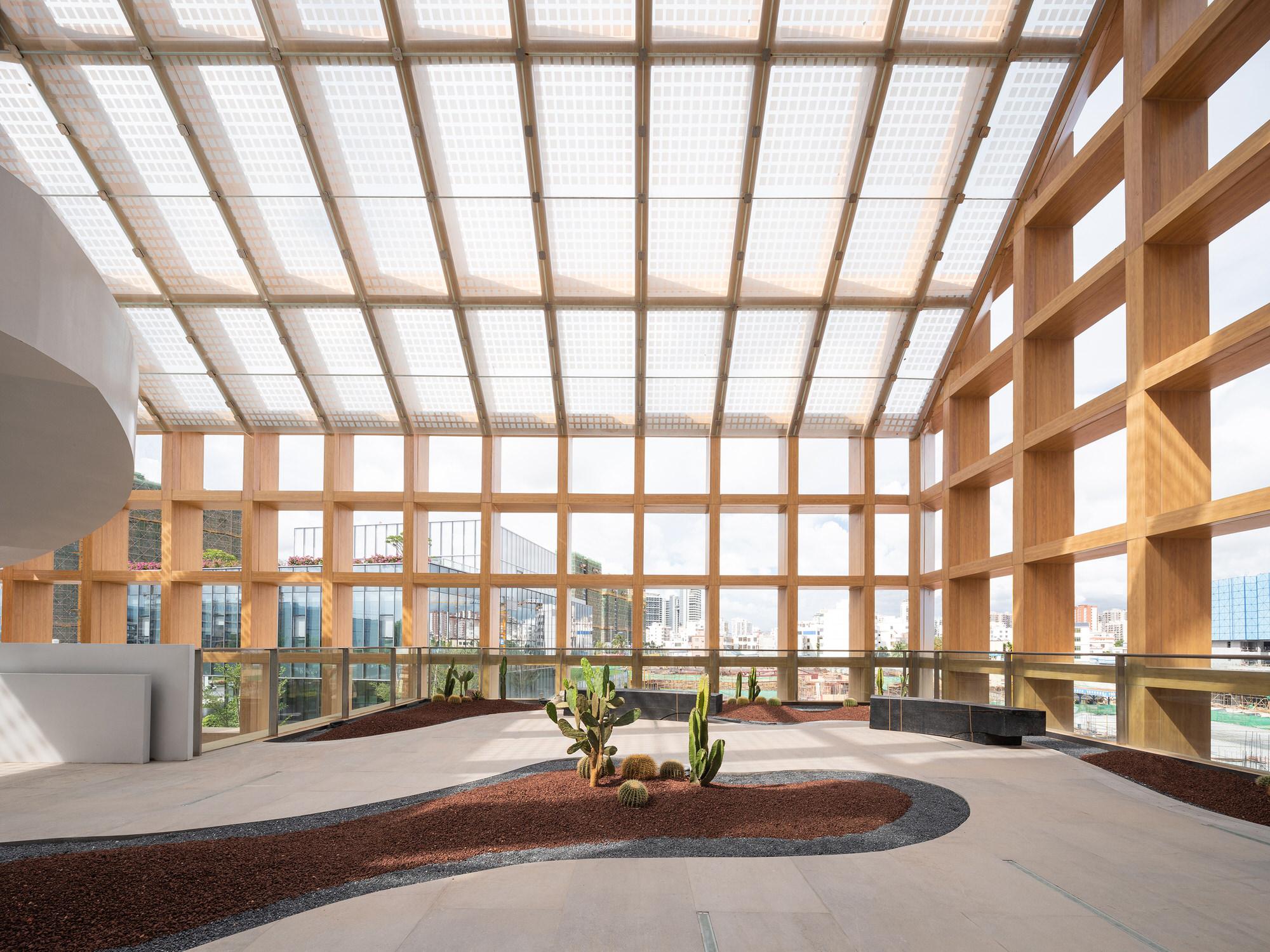 Clou Architects Sanya Farm Lab Co Life Timber Pavilion Hainan China Yellowtrace 08
