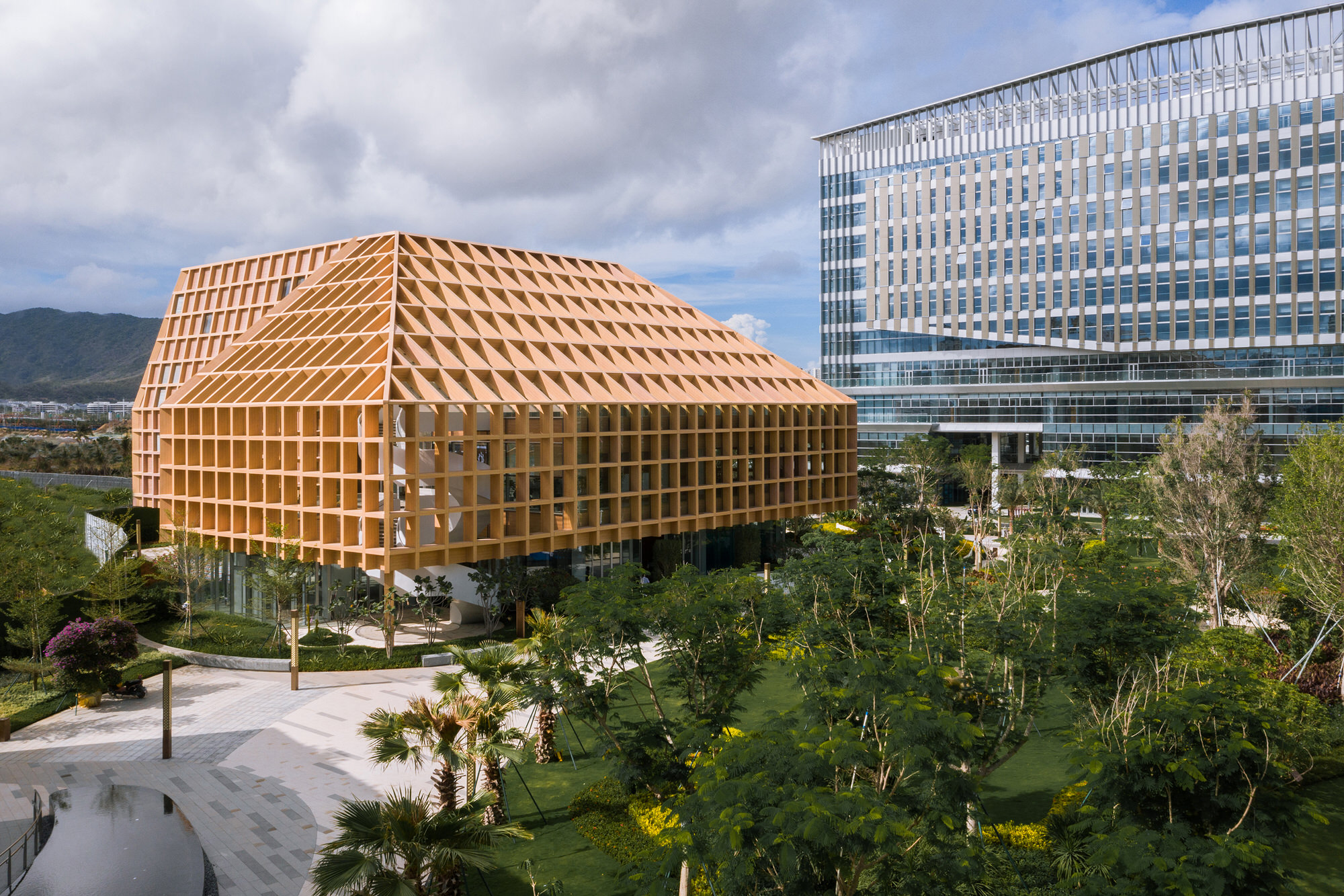Clou Architects Sanya Farm Lab Co Life Timber Pavilion Hainan China Yellowtrace 13