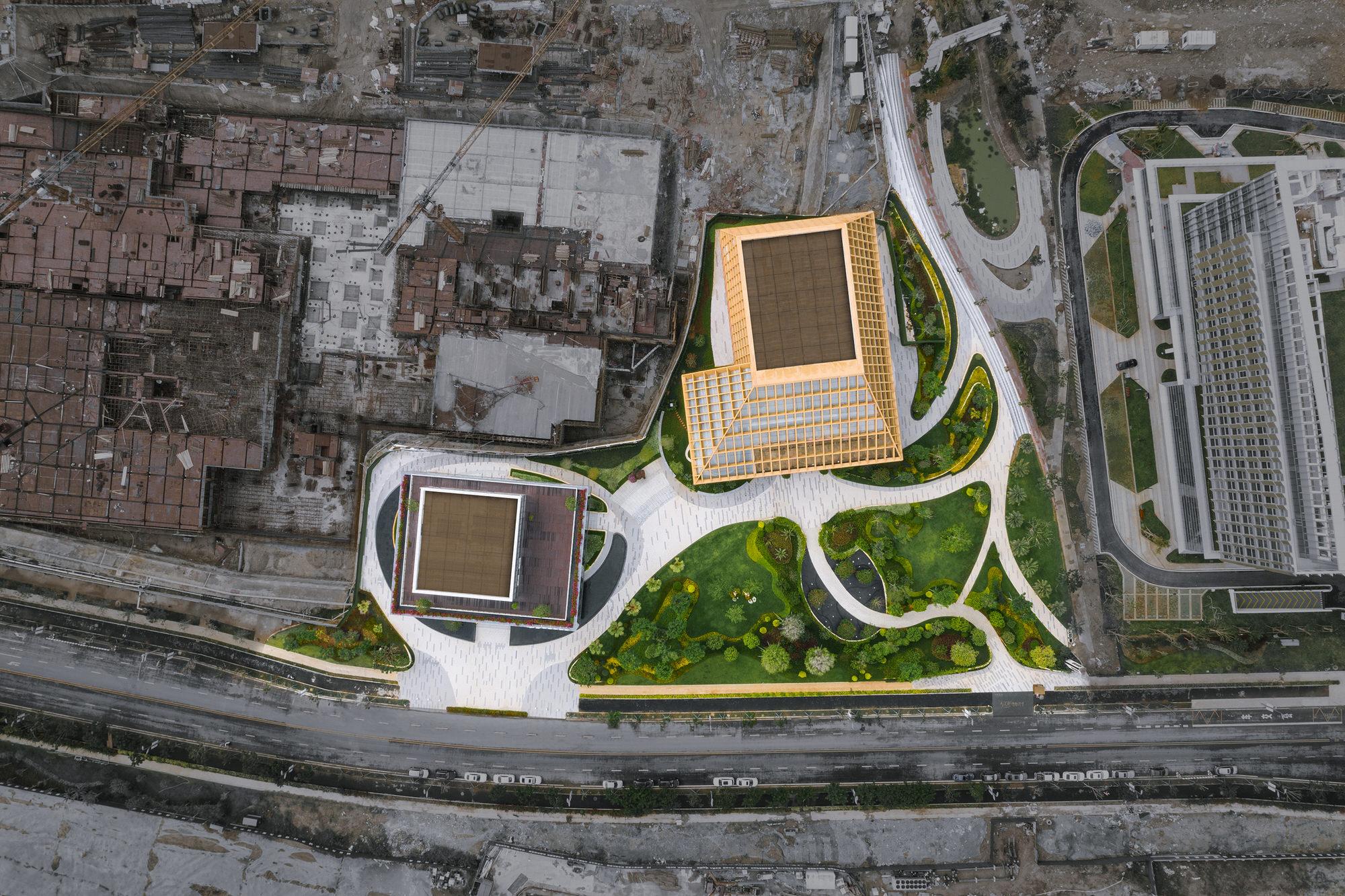 Clou Architects Sanya Farm Lab Co Life Timber Pavilion Hainan China Yellowtrace 14
