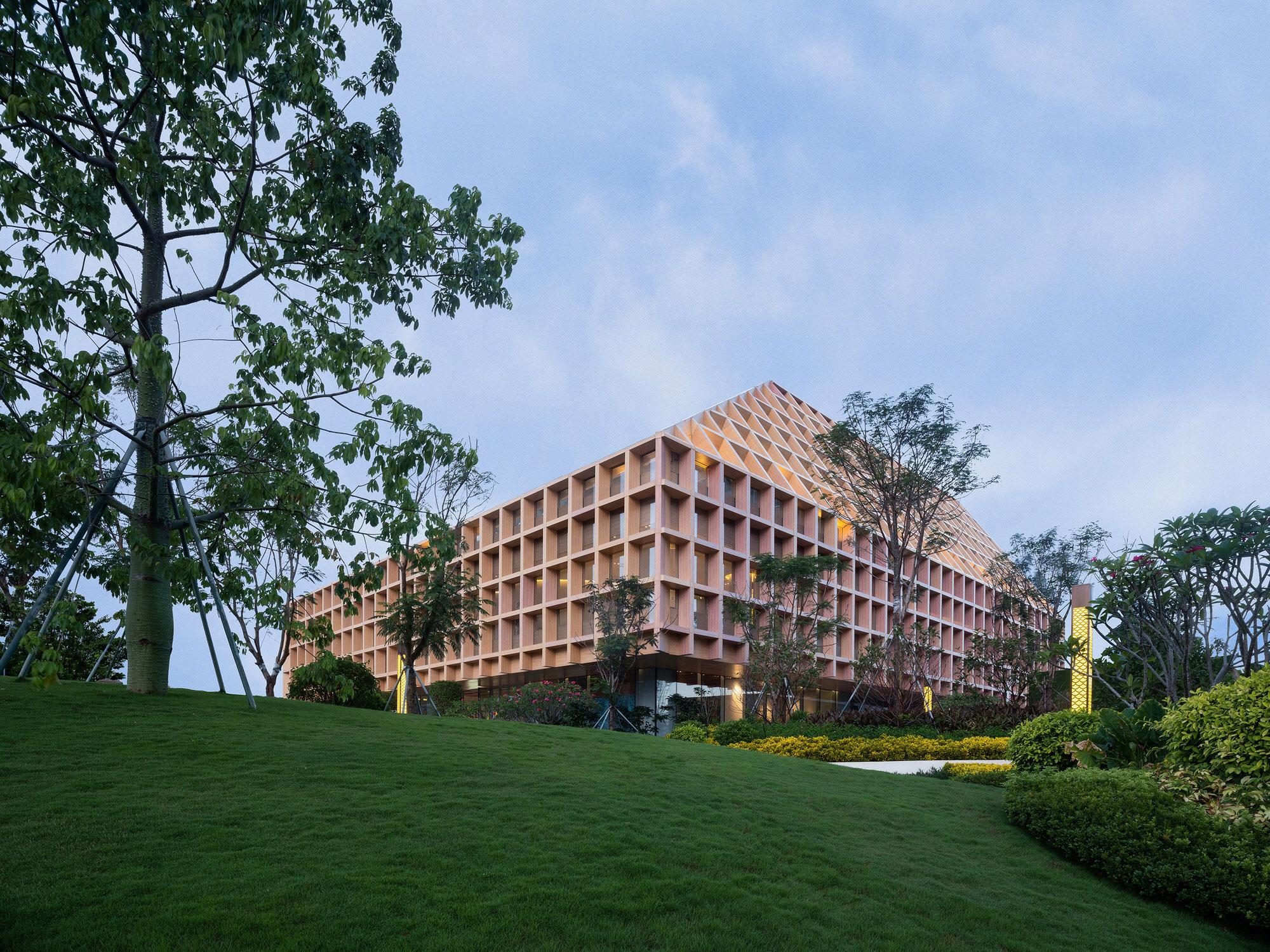 Clou Architects Sanya Farm Lab Co Life Timber Pavilion Hainan China Yellowtrace 15