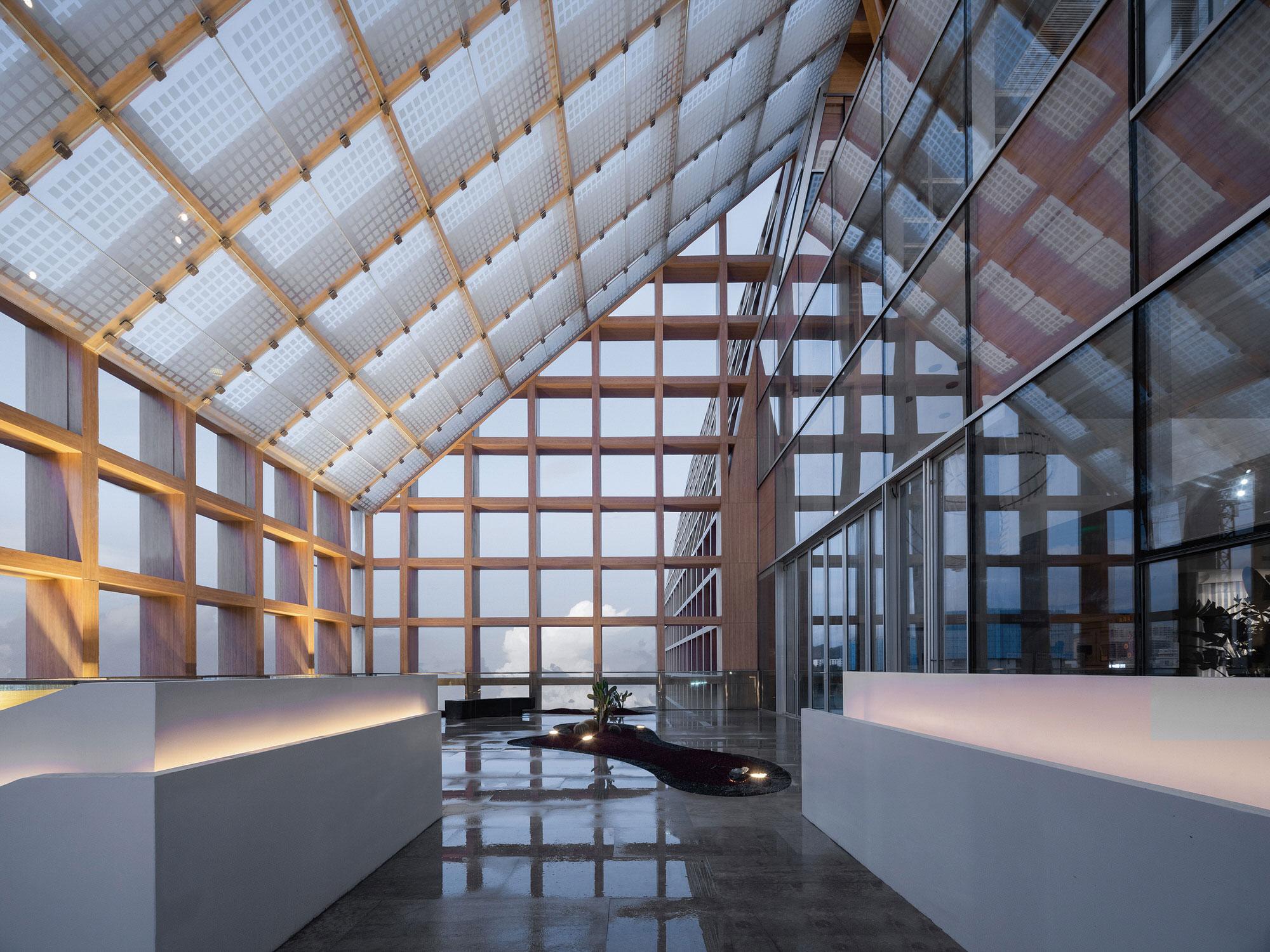 Clou Architects Sanya Farm Lab Co Life Timber Pavilion Hainan China Yellowtrace 16
