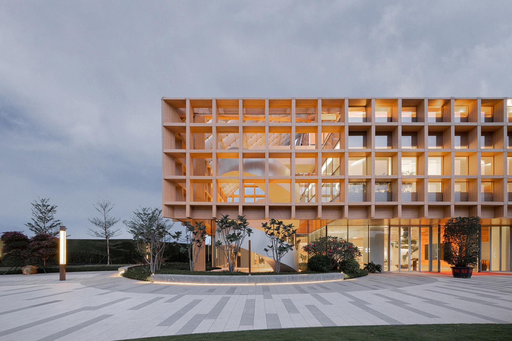 Clou Architects Sanya Farm Lab Co Life Timber Pavilion Hainan China Yellowtrace 17