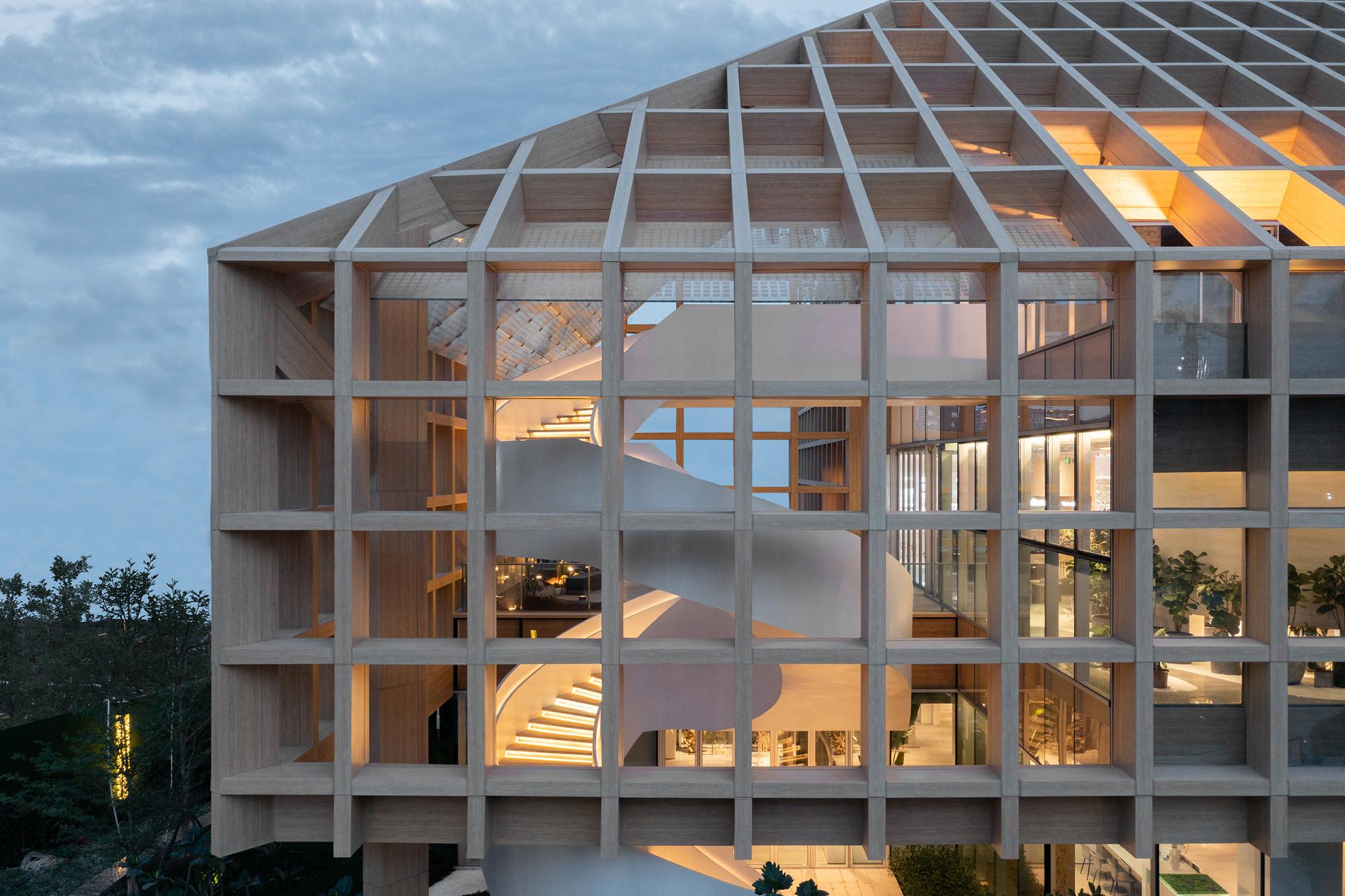 Clou Architects Sanya Farm Lab Co Life Timber Pavilion Hainan China Yellowtrace 18