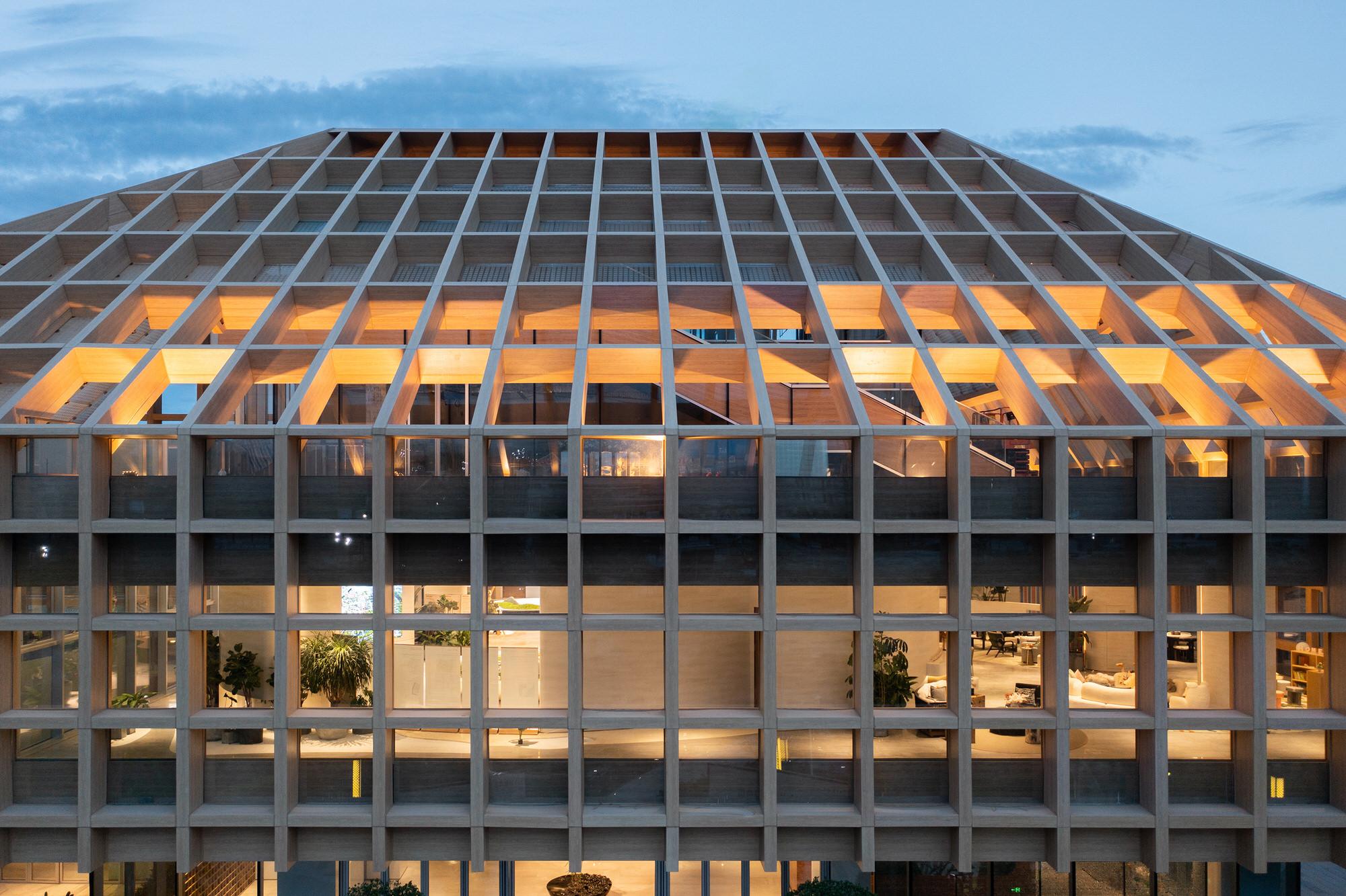 Clou Architects Sanya Farm Lab Co Life Timber Pavilion Hainan China Yellowtrace 19