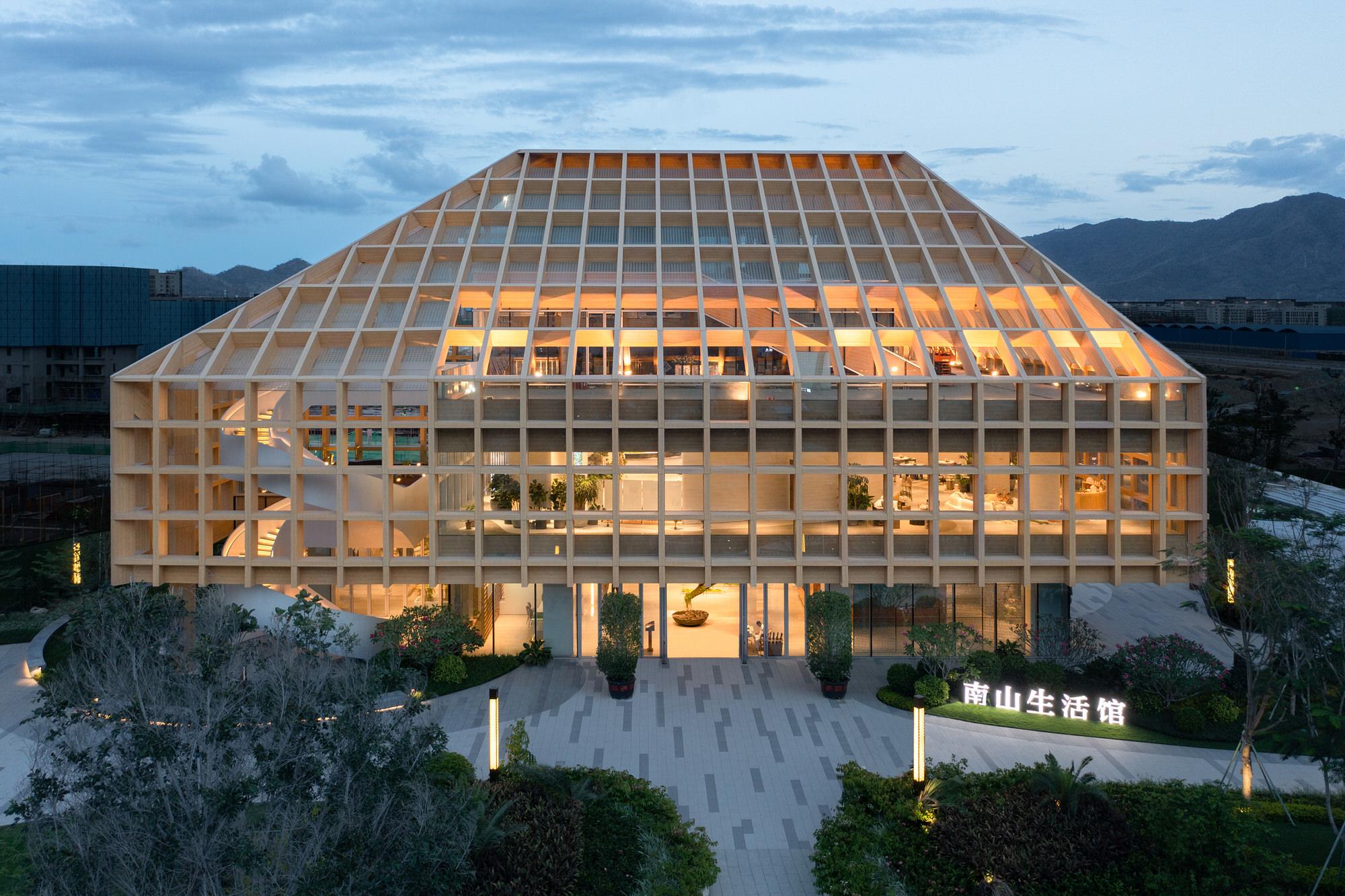 Clou Architects Sanya Farm Lab Co Life Timber Pavilion Hainan China Yellowtrace 20