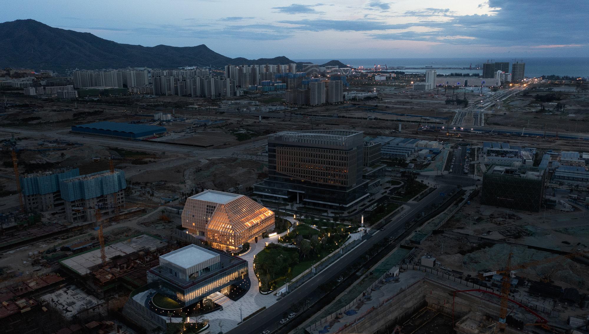 Clou Architects Sanya Farm Lab Co Life Timber Pavilion Hainan China Yellowtrace 21
