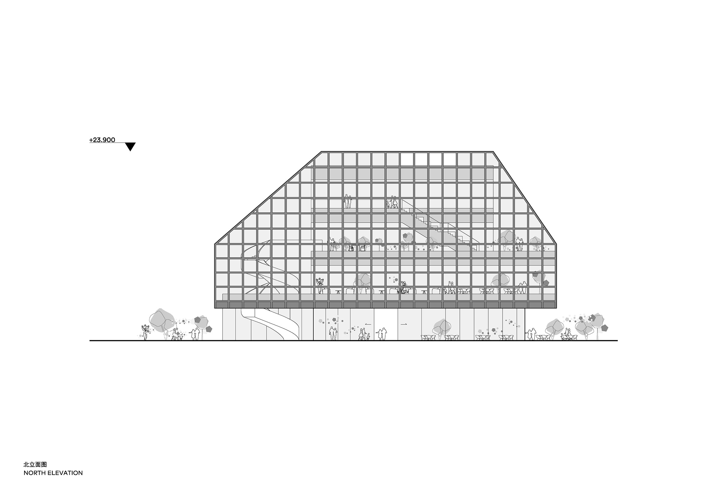 Clou Architects Sanya Farm Lab Co Life North Elevation Yellowtrace