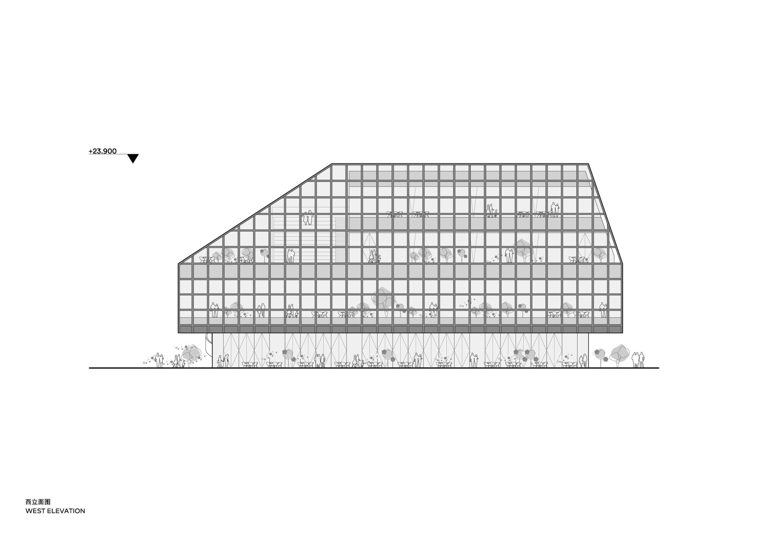 Clou Architects Sanya Farm Lab Co Life West Elevation Yellowtrace