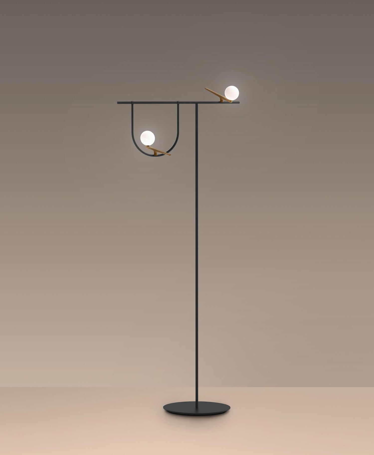 Aretmide Yanzi Floor Lamp Yellowtrace