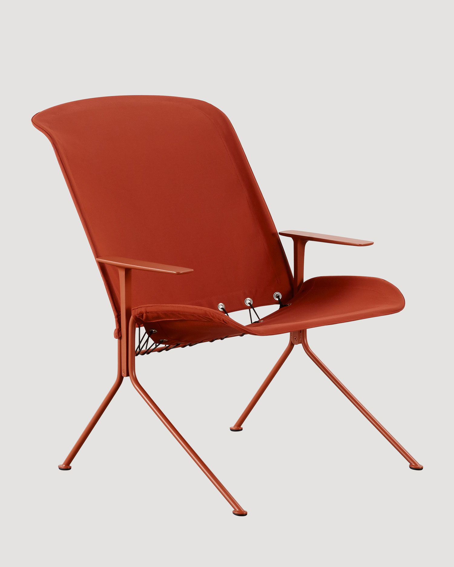 Tait Zephyr Lounger Low Back Arms Grevillea Yellowtrace