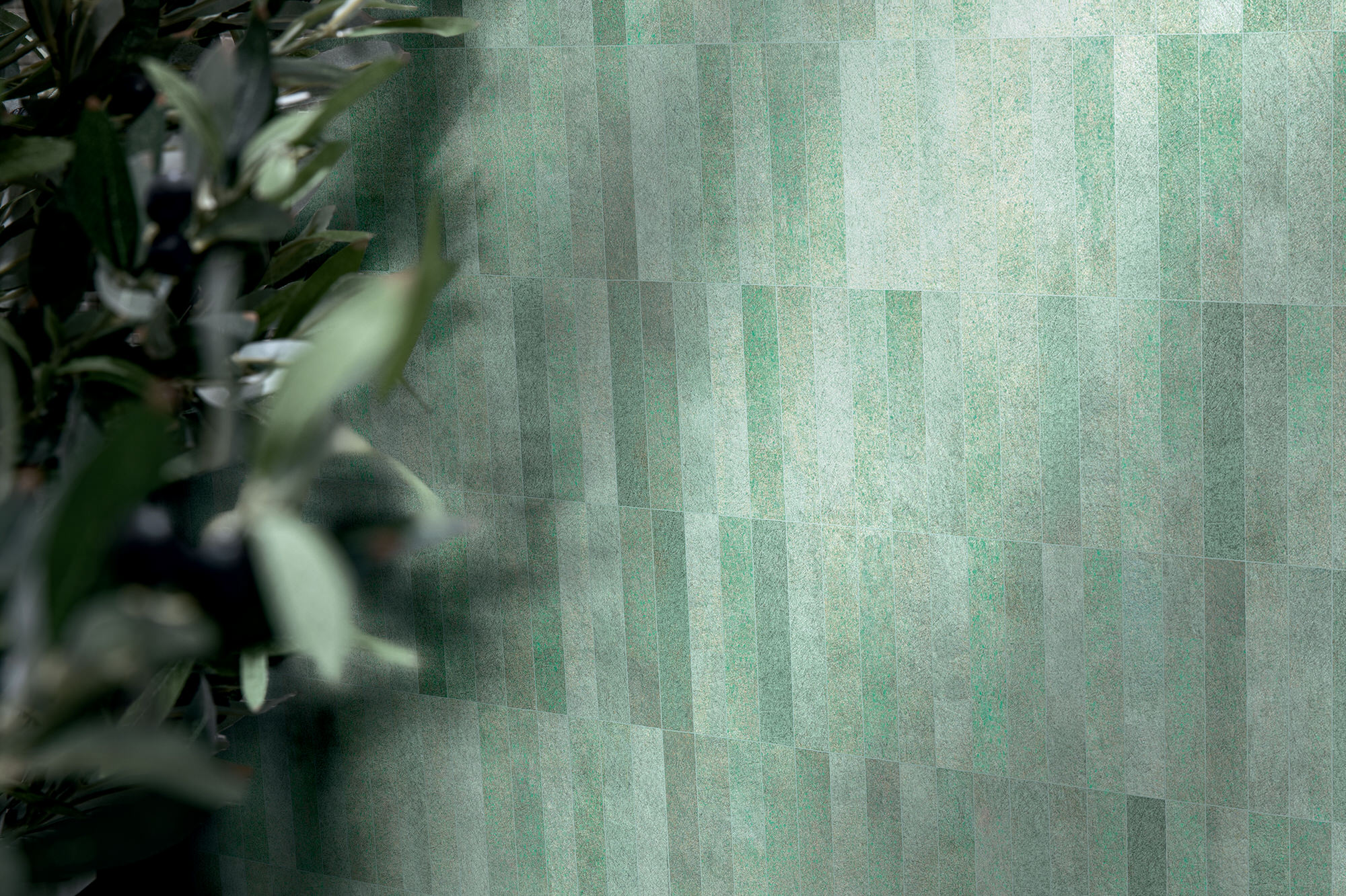 Florim Sensi Pigmenti Bricks Malachite Yellowtrace