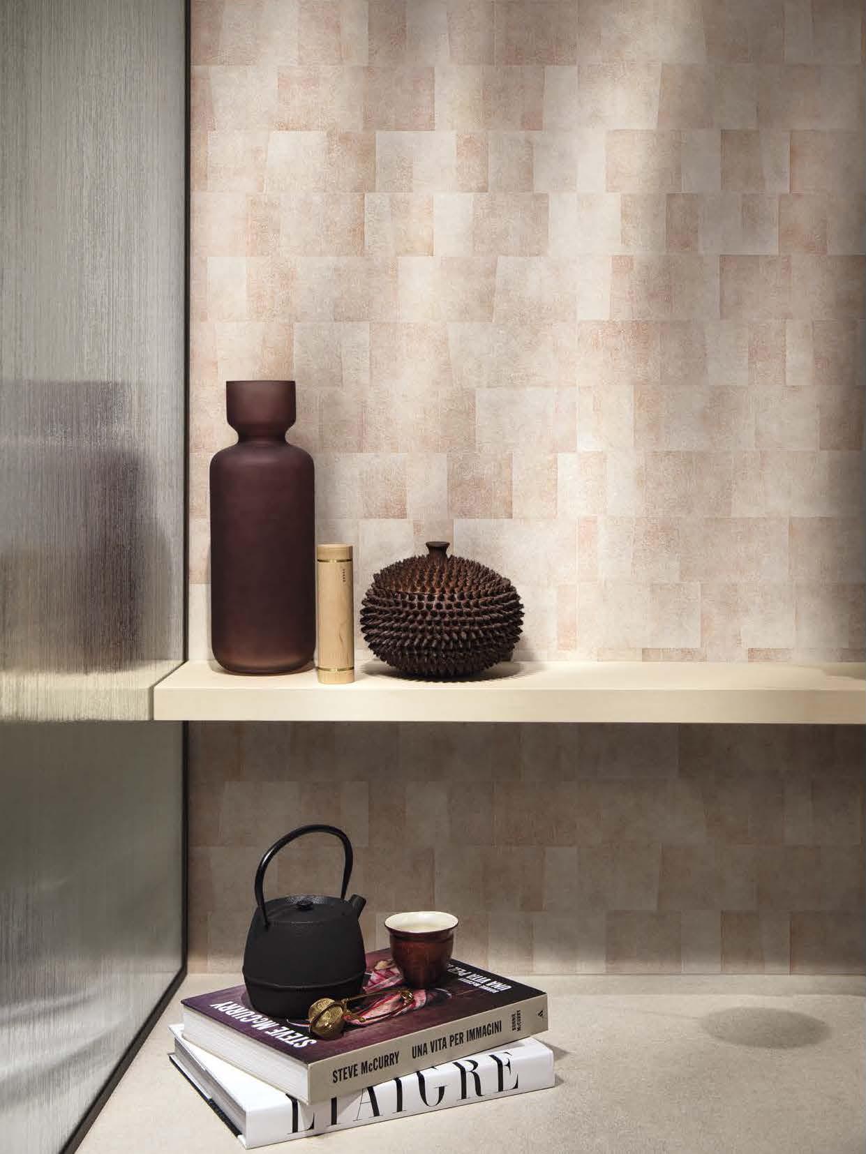 Florim Unveils 'Sensi Pigmenti' With an Installation at Milan Design Week 2021.