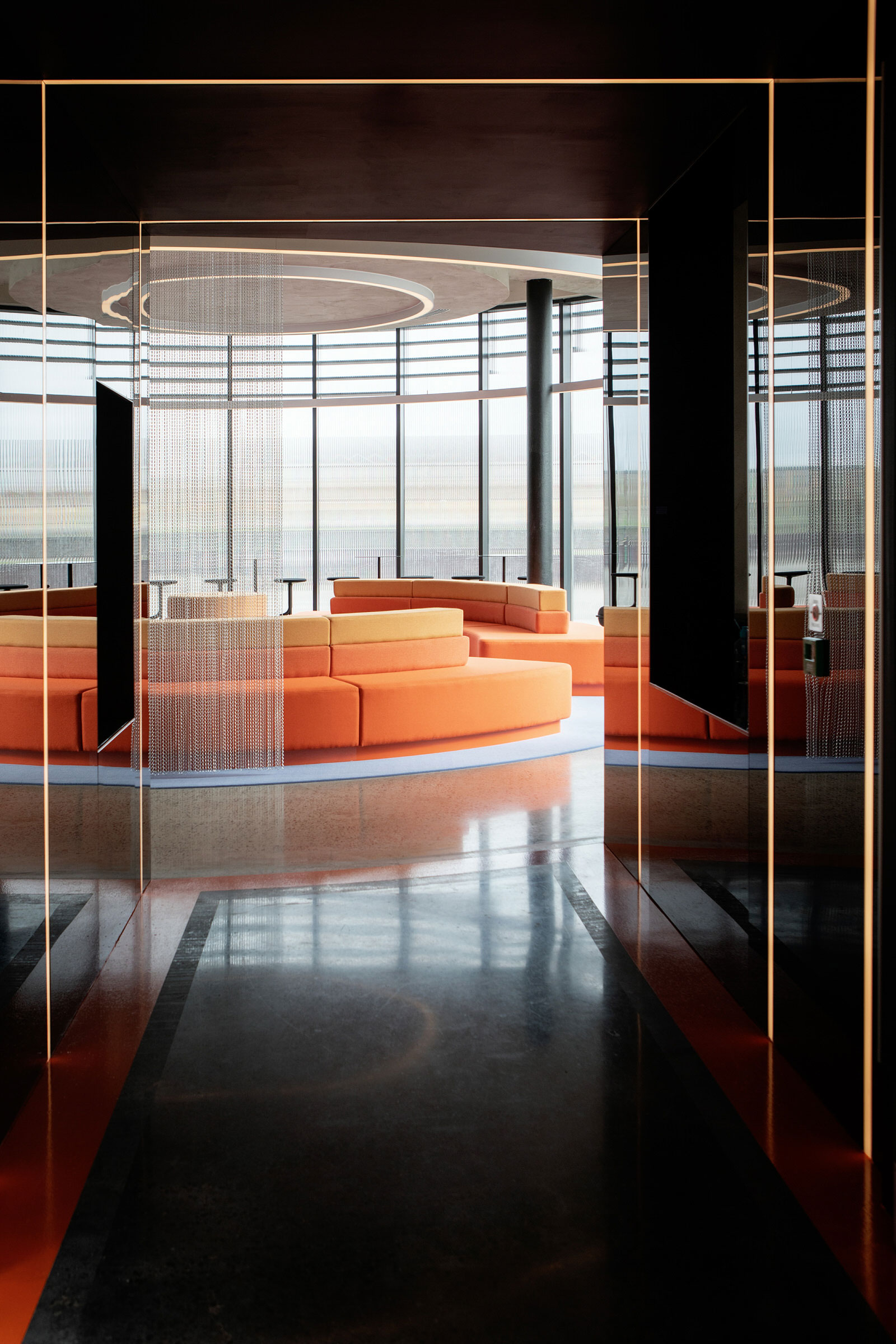 """Sonica """"First Landings"""" Workspace of the Future by Kingston Lafferty Design."""