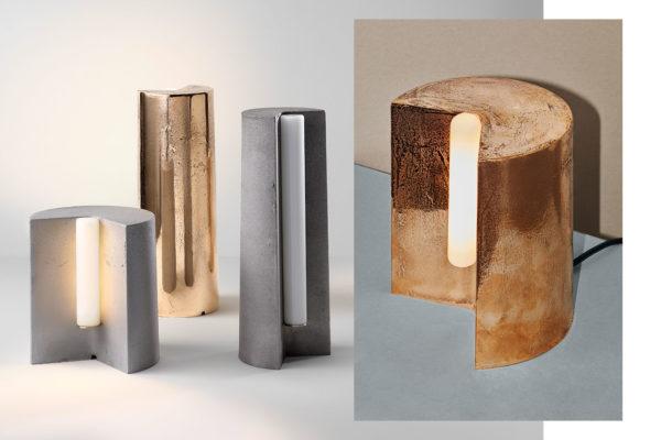 Volker Haug Studio Tableton Lamp Collection Australian Lighting Design Yellowtrace