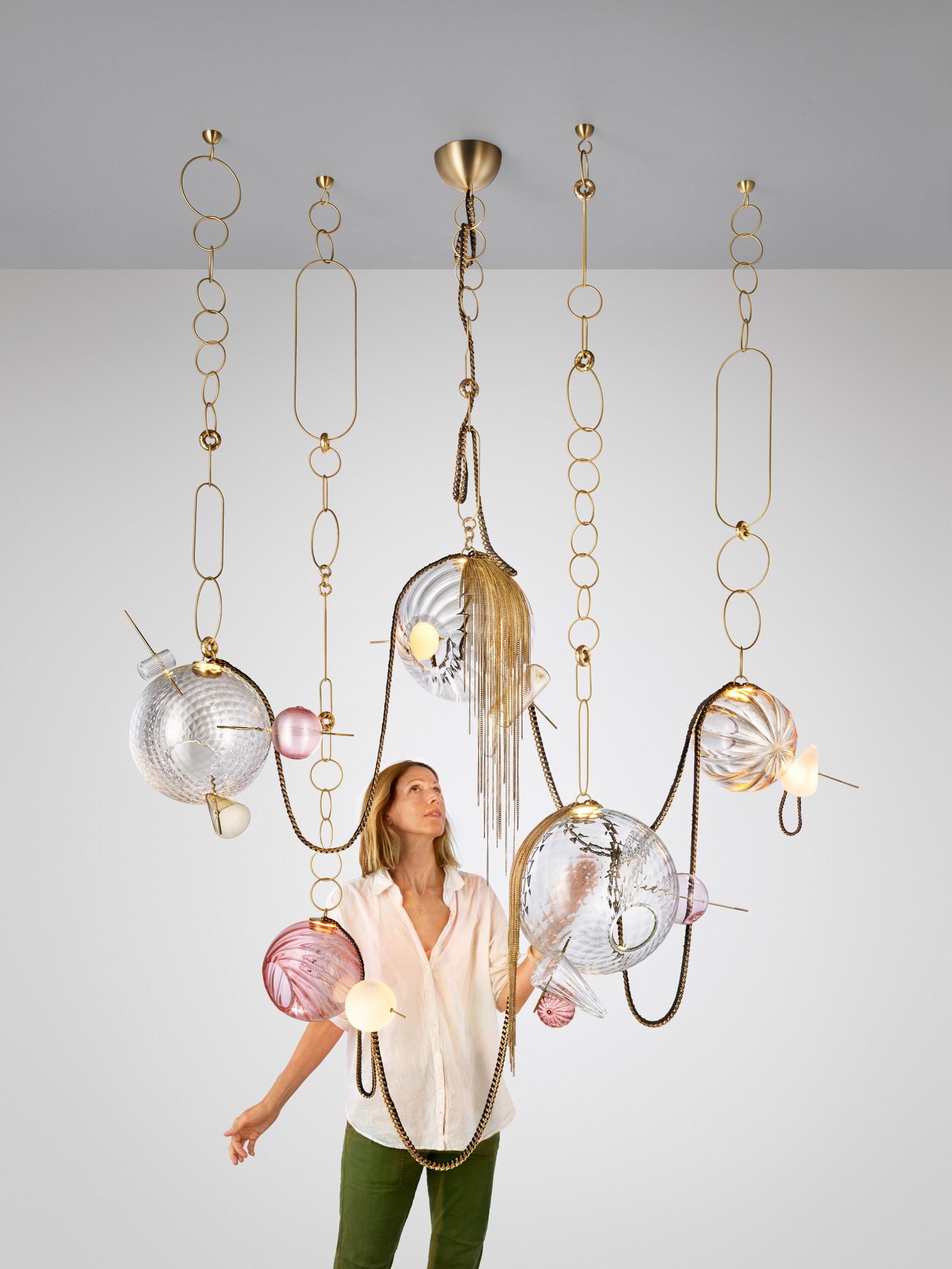 Lindsey Adelman With Paradise Lighting Collection Photo Nigel Cox Yellowtrace