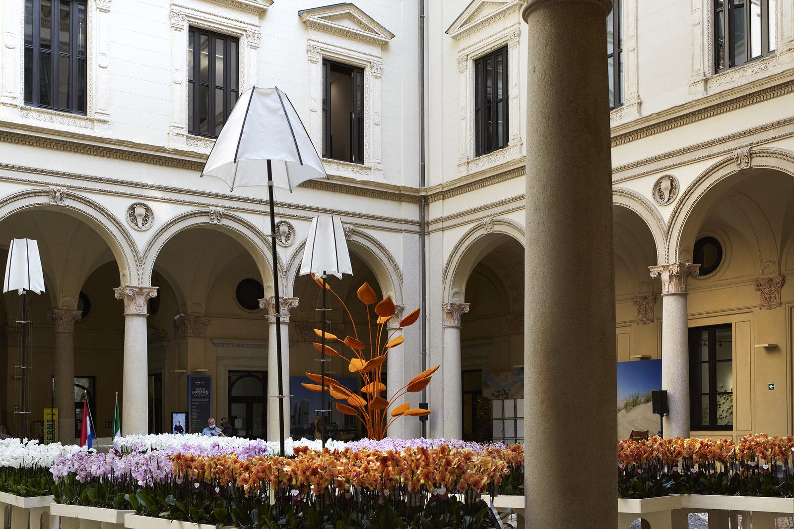 Vouw Bloomlight Masterly Palazzo Turati Milan Design Week 2021 Yellowtrace 05
