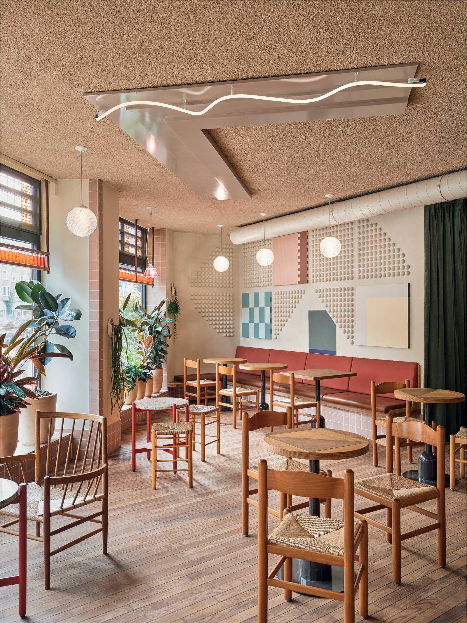 Studio Modijefsky Volare Bomboloni Amsterdam Hospitality Interiors Photo Maarten Willemstein Yellowtrace 03